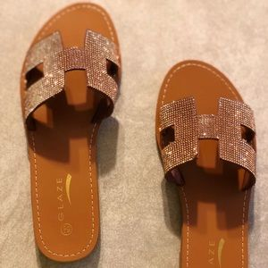 """Shoes - Sandals """"Copper slides"""""""